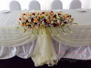 Оформление свадьбы цветами недорого в Москве