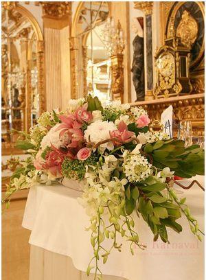 Декор на свадьбу цветами фото и цены