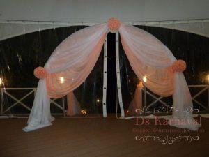 Декор шатра для свадеб недорого в Москве
