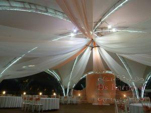 Оформление шатра для свадьбы оригинально