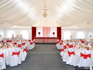 Украшение шатра для свадьбы цены