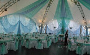 Оформление шатра на свадьбу фото