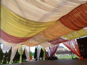 Оформление потолка для свадьбы в Москве