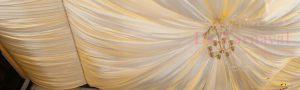 Оформление потолка на свадьбу фото