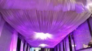 Декор потолка для свадьбы фото и цены
