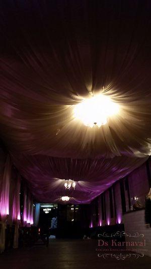 Декор потолка для свадеб красиво