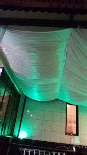 Украшение потолка на свадьбу фото
