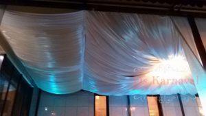 Оформление потолка для свадеб в Москве