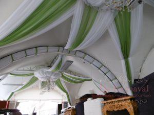 Украшение потолка на свадьбу фото и цены