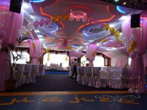 Украшение банкетного зала на свадьбу недорого