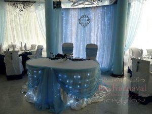 Оформление банкетного зала для свадеб дешево