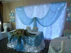 Декор банкетного зала для свадеб дешево