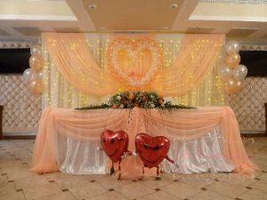 Украшение банкетного зала на свадьбу фото и цены