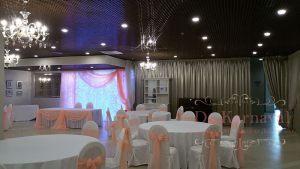 Украшение банкетного зала на свадьбу недорого в Москве