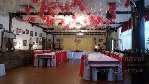 Декор банкетного зала для свадьбы красиво