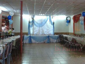 Оформление банкетного зала для свадеб недорого
