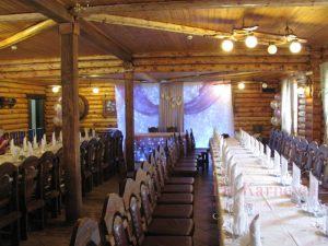 Оформление банкетного зала для свадьбы недорого