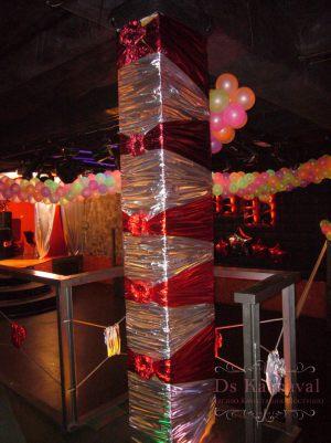 Декор колонн для свадеб дешево