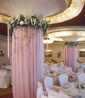 Украшение колонн для свадьбы фото и цены