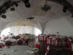 Декор свадьбы тканью недорого цены