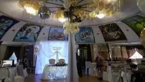 Украшение свадьбы тканью фото и цены