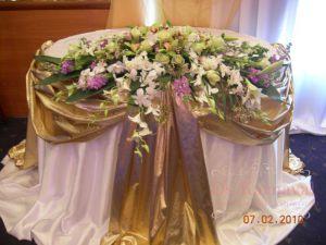 Украшение свадеб тканью фото и цены