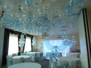 Декор ресторана на свадьбу тканью в Москве