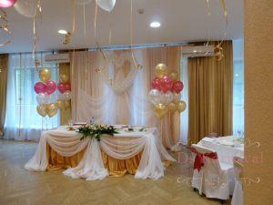 Оформление ресторана для свадьбы тканью недорого
