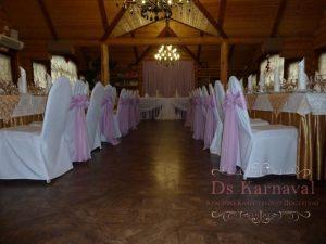 Оформление ресторана для свадьбы тканью красиво