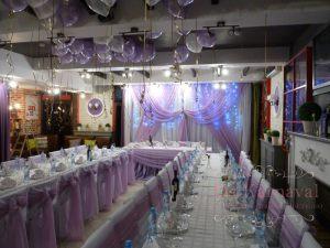 Оформление ресторана для свадьбы тканью недорого в Москве