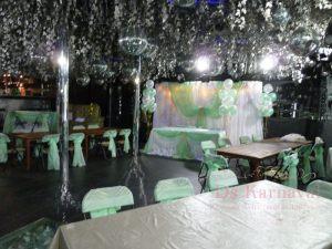 Оформление ресторана для свадьбы тканью оригинально