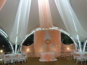 Оформление стен на свадьбу оригинально