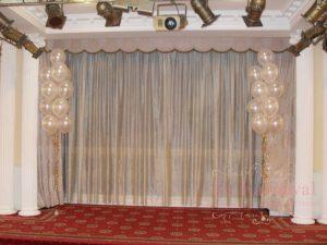 Декор стен для свадьбы фото