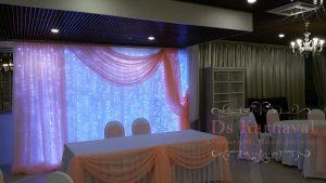 Оформление стен для свадеб цены