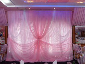 Декор стен для свадьбы недорого