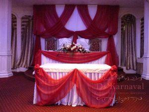 Декор президиума на свадьбу недорого цены