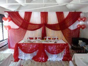 Оформление президиума для свадеб фото