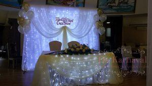 Оформление президиума для свадеб недорого в Москве