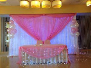 Украшение президиума на свадьбу фото и цены