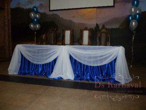 Декор стола молодых тканью для свадеб фото и цены