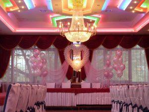 Декор свадеб шарами цены