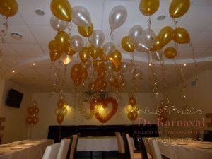 Оформление свадьбы шарами недорого
