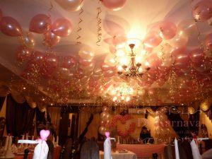 Декор свадьбы шарами красиво