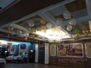 Украшение на свадьбу шарами в Москве