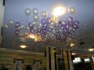 Оформление на свадьбу шарами недорого в Москве