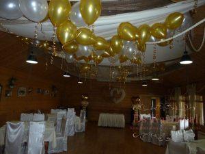 Украшение на свадьбу шарами фото