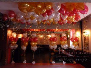 Декор свадеб шарами красиво