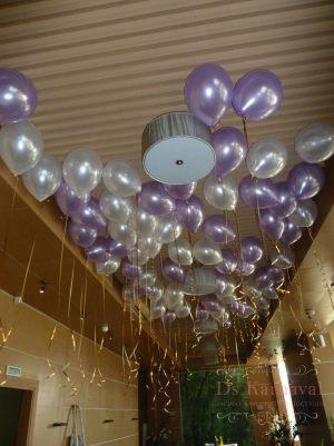 Оформление свадеб шарами недорого в Москве