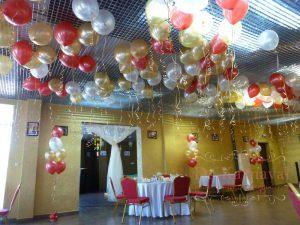 Украшение свадеб шарами цены