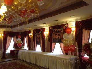 Украшение свадеб шарами фото
